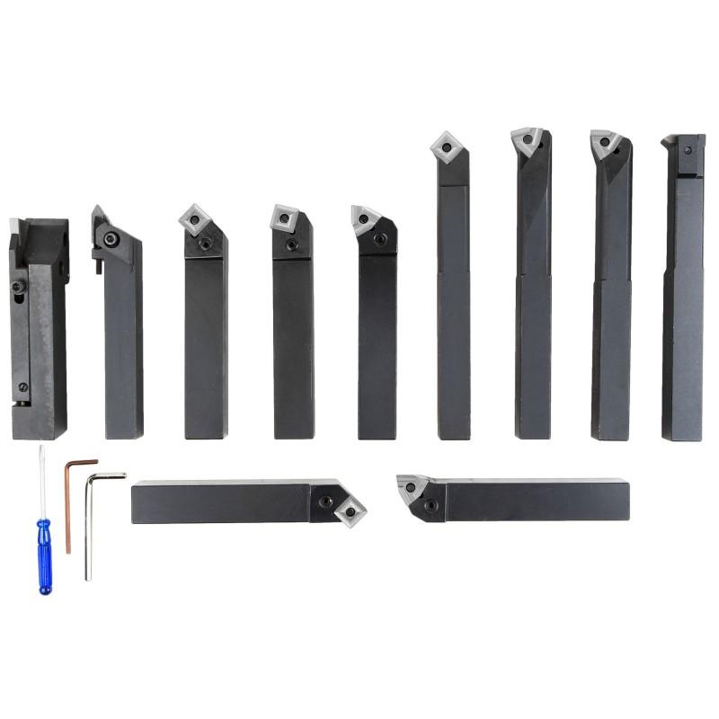11pcs Indexable Carbide Set 25x25mm