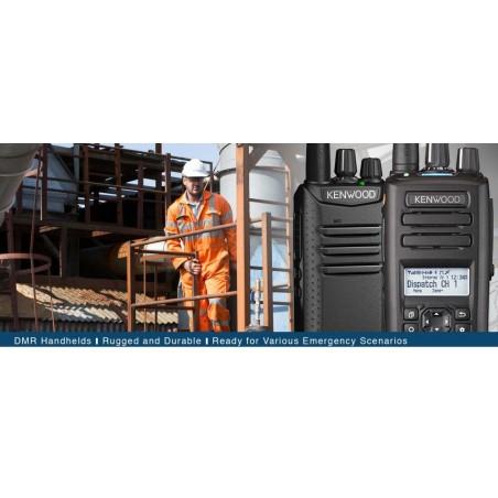 Kenwood TK-D340 UHF ammattiradiopuhelin, digitaaliset DMR ja analogiset kanavat