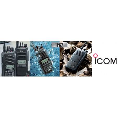 Icom IC-F1000 VHF-käsiradiopuhelin ammattikäyttöön