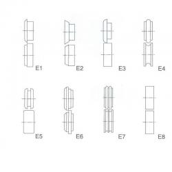 Rullat E1-E8 TB12 / T-12
